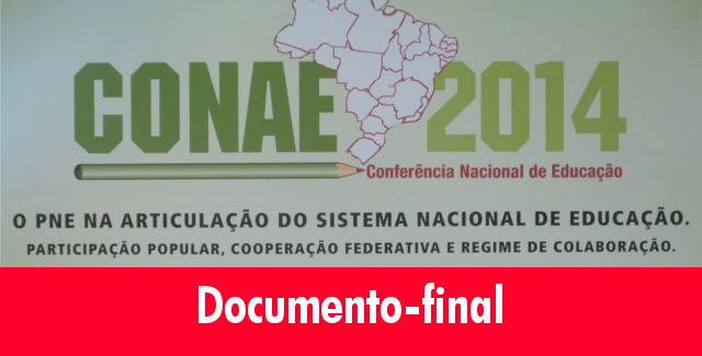 Conae 2014 - documento final