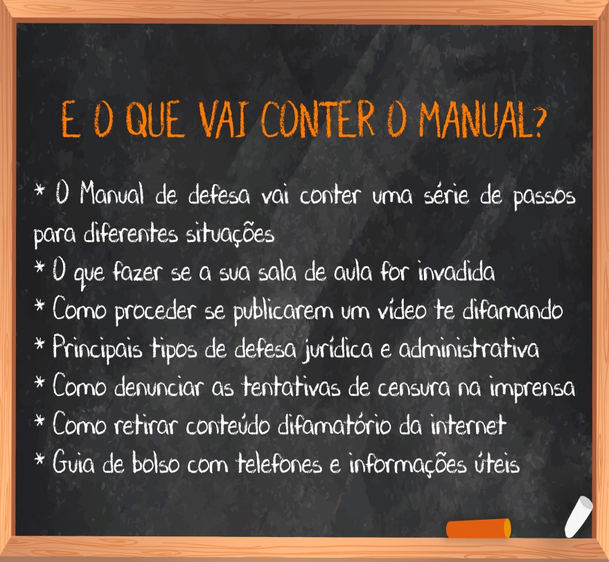 Crowdfunding Escola Sem Partido Defesa Censura Manual